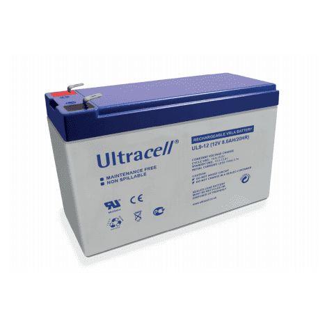 Batterie plomb étanche UL9-12 Ultracell 12v 9ah