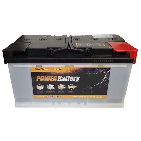 Batterie décharge lente Power Battery 12v 130ah