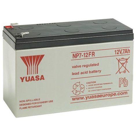 Batterie plomb étanche NP7-12FR Yuasa 12V 7ah