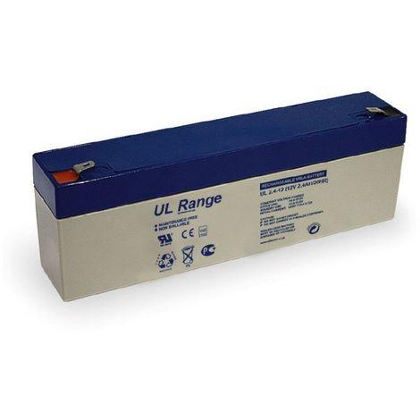 Batterie plomb étanche UL2.4-12 Ultracell 12v 2.4ah