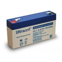 Batterie plomb étanche UL1.3-6 Ultracell 6v 1.3ah