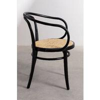Chaise Vintage en Bois d'Orme Tone SKLUM Bois d'orme Noir uni -  Noir uni                             Noir uni