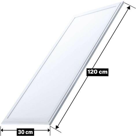 Dalle LED 40W 120x30 Blanc Neutre 4000k