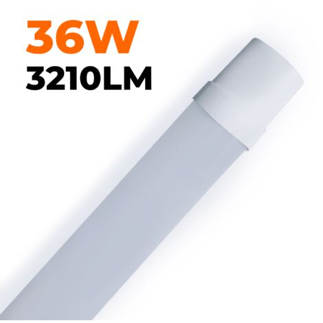 RÉGLETTE LED 36W 120CM ÉTANCHE IP65 BLANC FROID