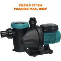 Espa Pompe Piscine SILEN S 75 15M 0.75CV 15m³/h