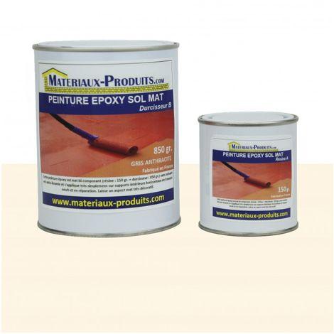 Peinture EPOXY sol et mur MAT Crème - 1 Kg Crème - Cr
