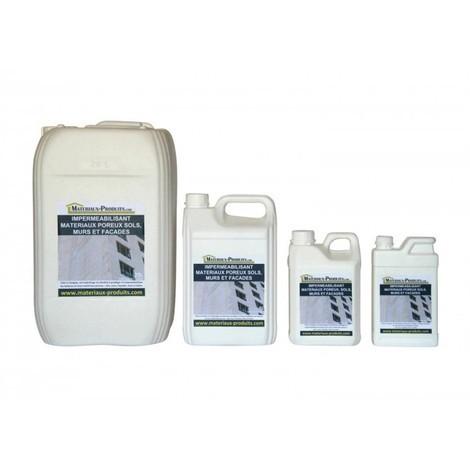 Imperméabilisant matériaux poreux sols, murs et facades - 1 L Incolore