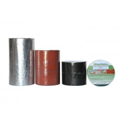 Bande D Etancheite Toiture Bitume Autocollante A Froid Aluminium 10 M X 7 5 Cm Aluminium