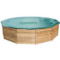 Bâche d'hiver pour piscine bois Béluga Ref. GD360 6,29 x 1,33 m.