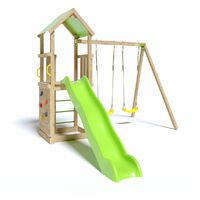 Aire de jeux en bois SMART XPERIENCE TRIGANO - 7 enfants