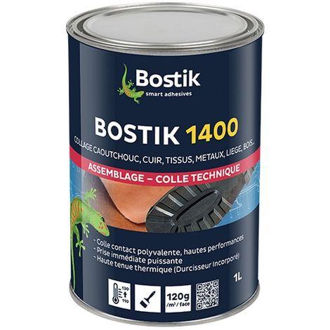 Colle à durcisseur incorporé BOSTIK 1400 Collage polyvalent haute performance   Conditionnement: 1 Litre
