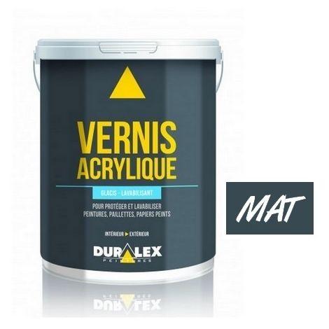 Vernis DURALEX Glacis et Lavabilisant Mat INCOLORE   Conditionnement: 1 Litre