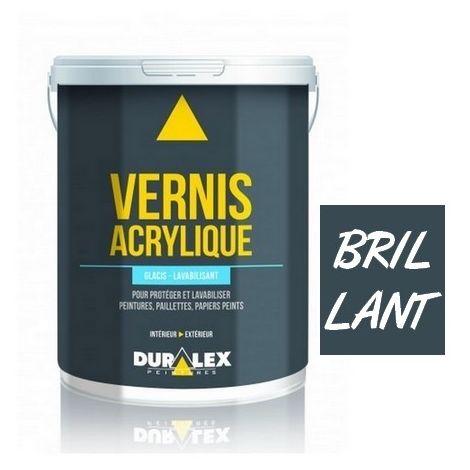 Vernis DURALEX Glacis et Lavabilisant Brillant INCOLORE | Conditionnement: 1 Litre