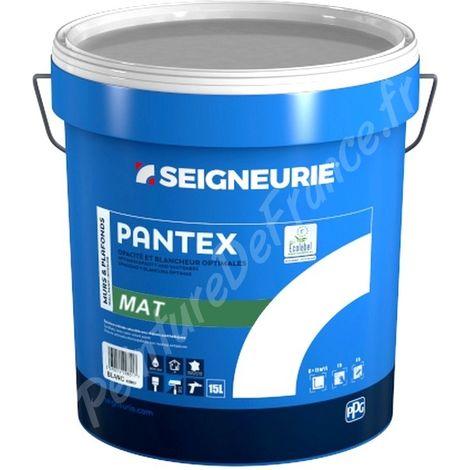 Photo de peinture-seigneurie-pantex-mat-blanc-15l-15-litres