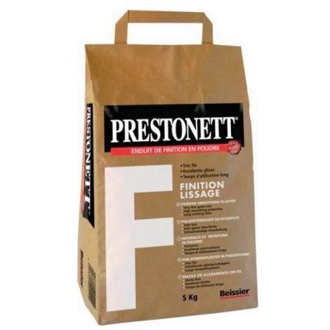 Enduit de finition PRESTONETT F finition lissage 5 Kg