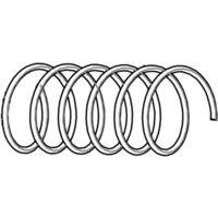 Molla per forbice pneumatica Lisam VR36 originale