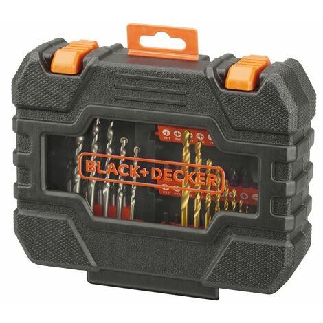 Coffret de 50 accessoires perçage / vissage Black + Decker A7232