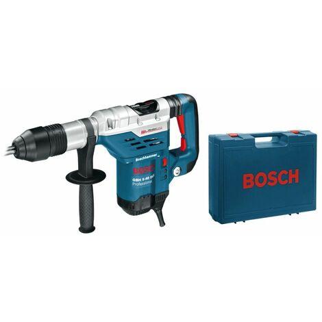 Marteau perforateur SDSMAX 1500W Bosch GBH 5-40 DCE 8,8 Joules 230V