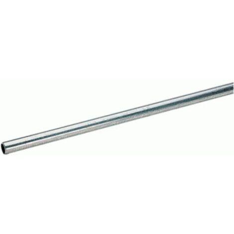 nero grezzo 40 x 20 x 2,0 mm B/&T in acciaio zincato 0//-5 mm tubo piatto ST37 in lunghezze da 500 mm Tubo rettangolare in acciaio zincato profilo cavo