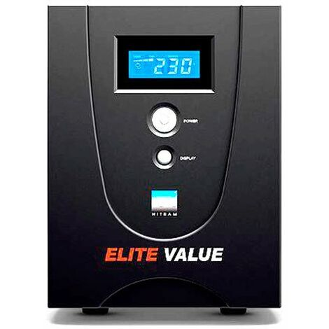 Nitram - Onduleur Elite Value 1500E-GP NITRAM  (1500 VA / 900 W)