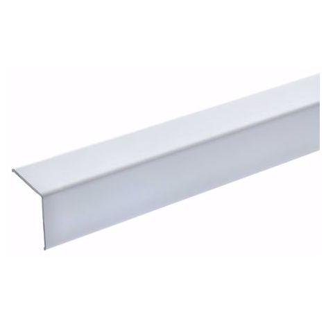 134 cm L Form Alu Stufenkantenprofil Integral gelochtes Profil zum Schrauben eloxiert Bronze Breite 35 mm