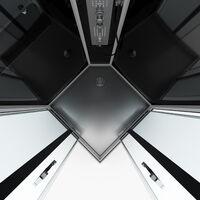 Cabine de douche carrée 90x90x215cm - PRIMUS SQUARE 90