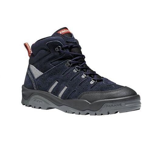 Chaussures de sécurité montantes - Parade Dicka - Norme S1P - Homme et Femme Bleu 40 - Bleu