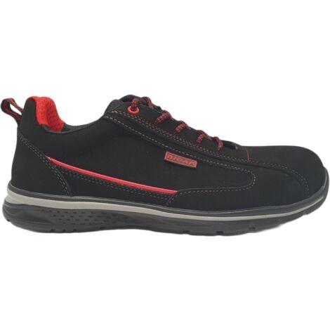 Chaussure de sécurité légère et souple RedBlack S1P SRC 44 - Noir