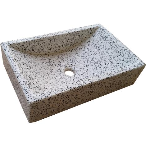 Lavabo de Piedra Rectangular Dálmata