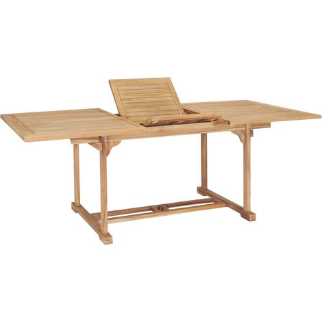 Massiver Premium Teak Gartentisch Tisch Teaktisch Esstisch Massivholz 70x110x75