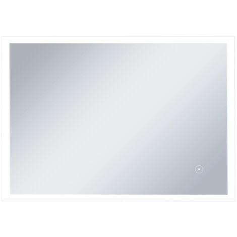 Badezimmer Wandspiegel Mit Led 100 X 60 Cm