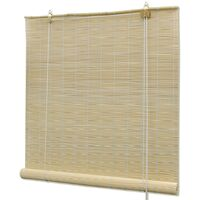 Naturfarbenes Bambusrollo 150 x 220 cm