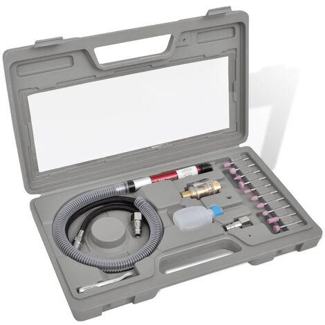 vidaXL Airpress Pneumatic Tool Kit Grinder Set