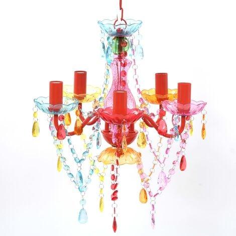 MULTI COLOUR crystal light 5 bulb - Multicolour