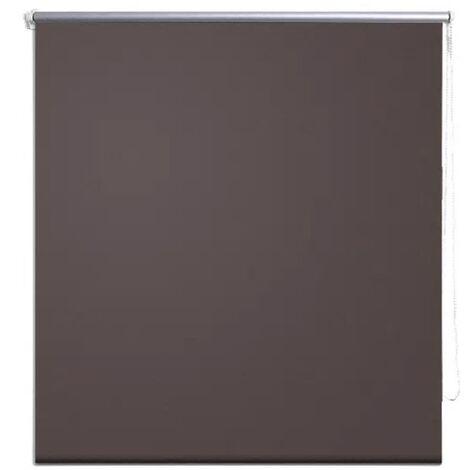 Roller Blind Blackout 40 x 100 cm Coffee - Brown