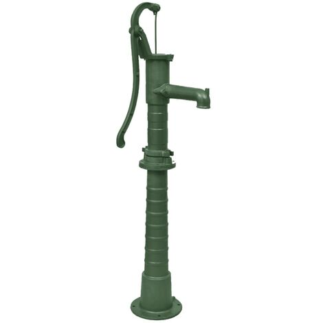 vidaXL Garden Water Pump with Stand - Green