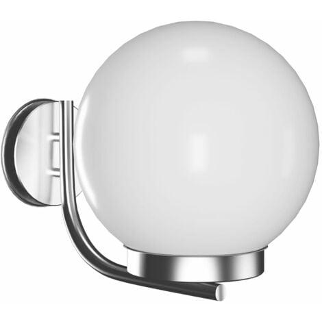 Garden wall lamp 32cm. - White