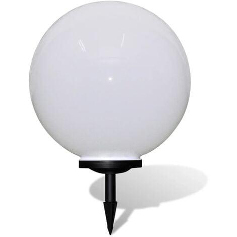 Outdoor Path Garden Solar Lamp Path Light LED 50cm 1pcs Ground Spike - White