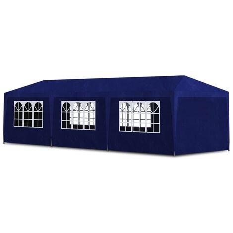 vidaXL Party Tent 3x9 m Blue - Blue