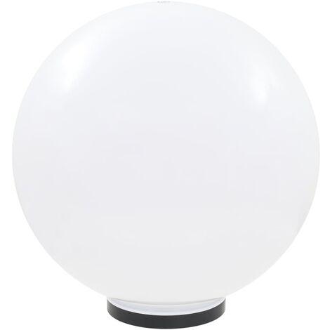 vidaXL LED Bowl Lamp Spherical 50 cm PMMA - White