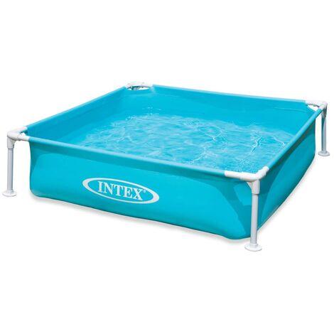Intex Swimming Pool Mini Frame 122x122x30 cm 57173NP - Blue