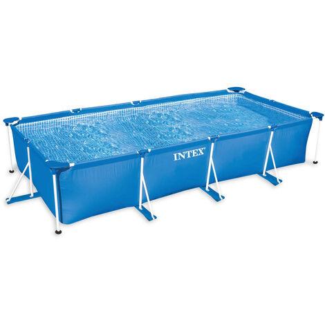 Intex Swimming Pool Rectangular Frame 220x150x60 cm 28270NP - Blue