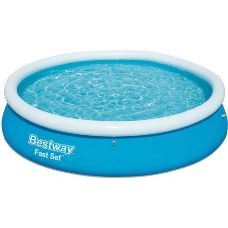 Bestway Fast Set Inflatable Swimming Pool 366x76 cm 57273 - Blue