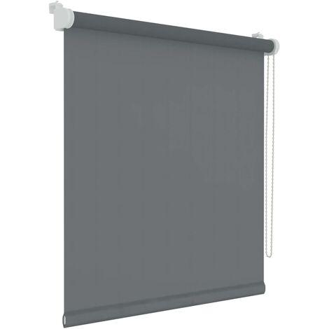 Decosol Mini Roller Blinds Translucent Uni Anthracite 87x160 cm - Grey