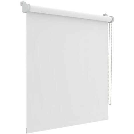 Decosol Mini Roller Blinds Blackout White 37x160 cm  - White