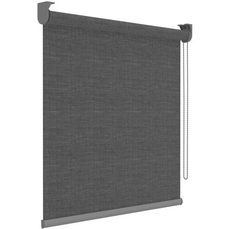 Decosol Roller Blinds Deluxe Anthracite Translucent 150x190 cm - Grey