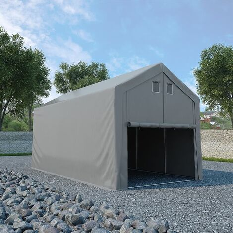 vidaXL Storage Tent PVC 3x6 m Grey - Grey