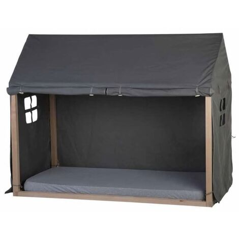 CHILDHOME Bed House Cover 210x100x150 cm Anthracite - Grey