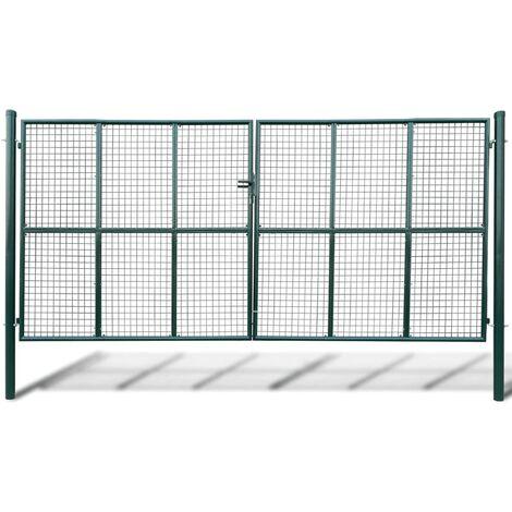 Mesh Garden Gate 415 x 250 cm / 400 x 200 cm - Green