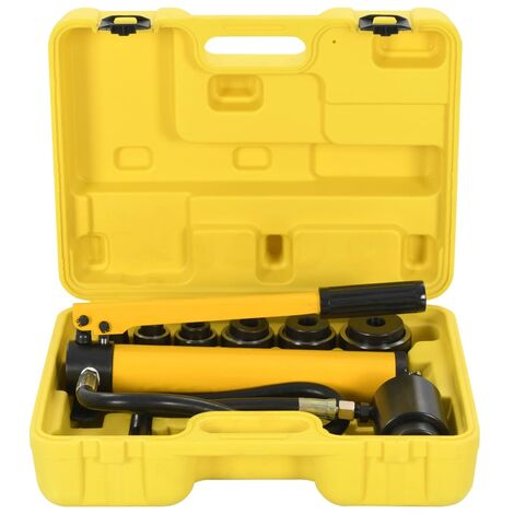 vidaXL Hydraulic Crimping Tool Set 22-60 mm